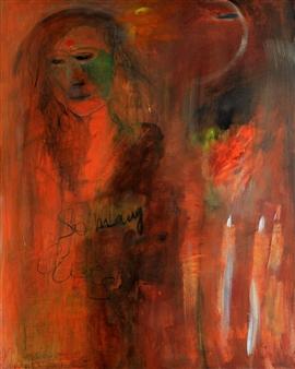 Clea von Döhren - So Many Lifes Acrylic on Linen, Paintings