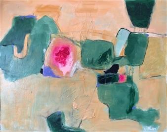 Paul Kittlaus - Untitled #126 Acrylic on Canvas, Paintings