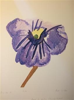 Aaron Cristofaro - Viola Giclee Print on Paper, Prints