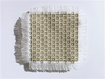 Andrea Collante - TP#17 Mixed Media Textile, Mixed Media