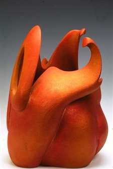 Nora Pineda - Grasshopper Stoneware, Sculpture