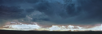Donald Woodman - Belen Storm Archival Pigment Print, Photography