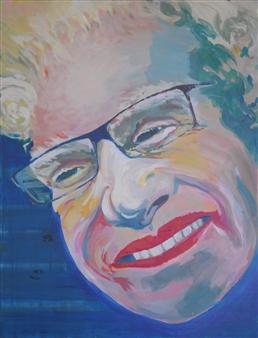 Eric Raffy - Albi Acrylic on Canvas, Paintings