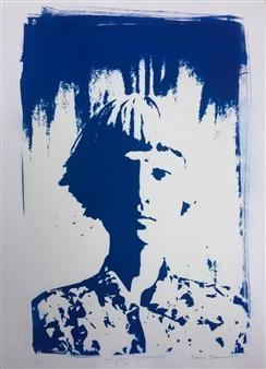 Renee Johannes - Yin-Yang (Cyanotype) cyanotype, Prints