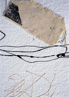 Merritt Spangler - Endings No. 4 Acrylic on Paper, Paintings