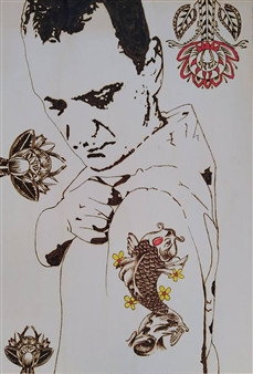 Carlo Proietto - Pyro - Tattoo Pyrography, Paintings