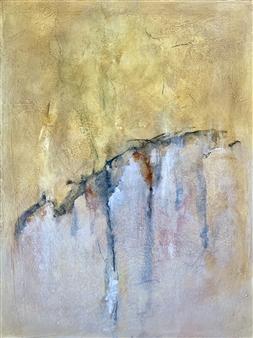 Alissa Van Atta - Forgotten Bridges Acrylic on Canvas, Paintings