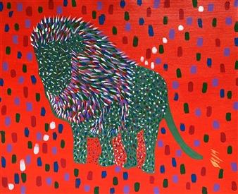 Carlos E. Porras M. - El Rey Acrylic on Canvas, Paintings