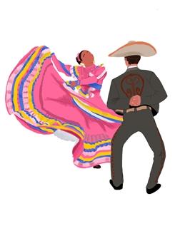 Vanessa Gonzalez - Couple #3 Digital Illustration, Digital Art