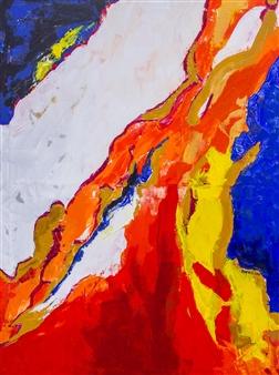 Doofan Kwaghhool - Sensitivity Acrylic on Canvas, Paintings