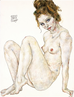 Gunter Langer - Nah und Fern Acrylic & Gouache on Paper, Paintings