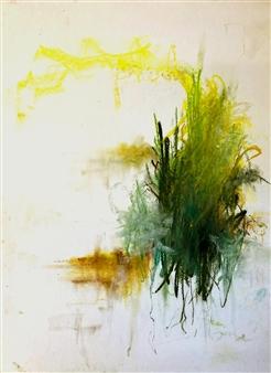 Ronnie Genotti - Pinnacles Pastel on Paper, Paintings