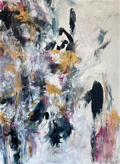 Kate Robinson - Worth the Wait Acrylic on Canvas, Paintings