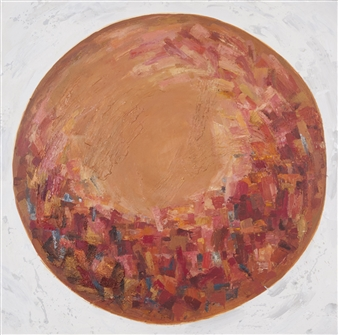 Nobuko Saji - Hope.A. Acrylic on Canvas, Paintings