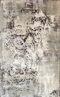 Nelya-Naki - Homesickness Oil on Canvas, Paintings