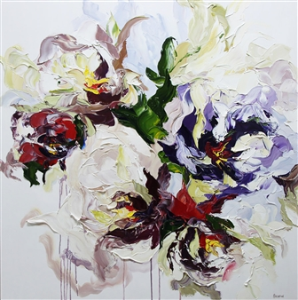 Rachelle Brady - Harmony Oil on Canvas, Paintings