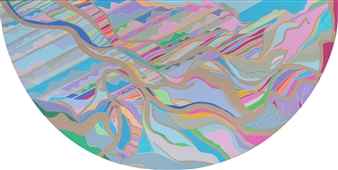 Ai-Wen Wu Kratz - Renewal / Part III Acrylic on Canvas, Paintings