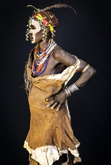 Safaa Kagan - Karo Woman Archival Pigment Print, Photography