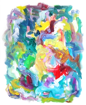 Susan Marx - Color Journey Acrylic on Canvas, Paintings