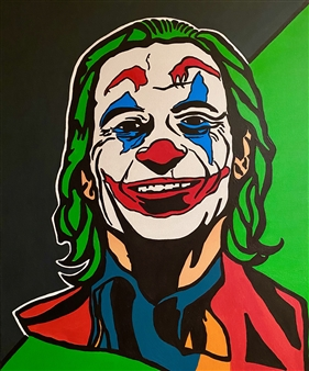 Gianpiero Palermo - Joker Acrylic on Canvas, Paintings