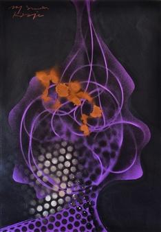 Jon Kraja - My Shade 304 Acrylic on Canvas, Paintings