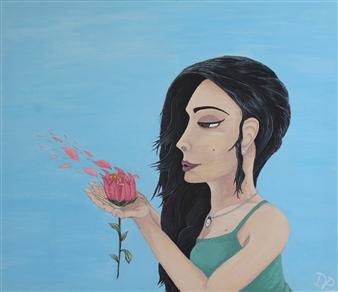 David Pallua - A Wish.. Acrylic on Canvas, Paintings