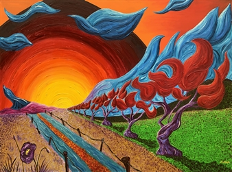 Mana - Riluttanza Oil on Canvas, Paintings