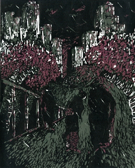Satoco Yamamoto - Central Park 70s Print on Paper, Prints