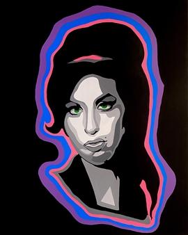Gianpiero Palermo - Amy 2.0 Acrylic on Canvas, Paintings
