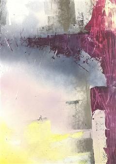 Vuce - Festina Lente Oil on Board, Paintings