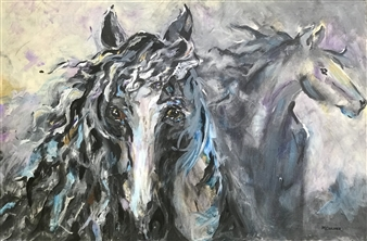 Margaret Culver - Breath of the Wind Acrylic on Canvas, Paintings