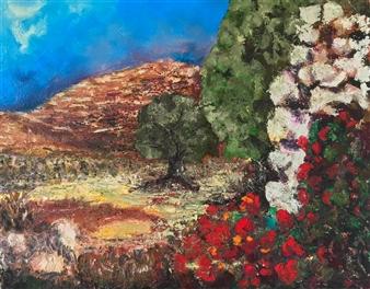 Marc Provisor - East #5 Embellished Giclèe Print on Canvas, Prints