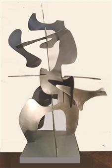 Joanne Syrop - Held Steel, Sculpture