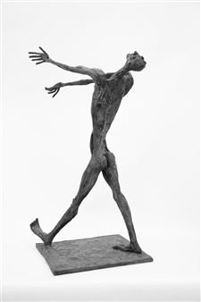 Emil Silberman - Untitled Bronze, Sculpture