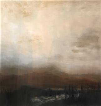 Ifat Shatzky - Hazy Oil on Wood, Paintings