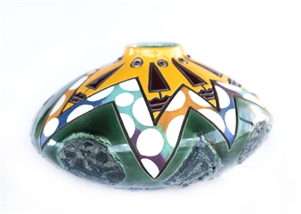 Nora Pineda - Yellow Vision Ceramic, Sculpture