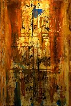 Kim Hinkson - Subway Acrylic on Canvas, Paintings