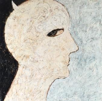 Lorena Becerra - Malicia (Malice) Mixed Media on Canvas, Mixed Media