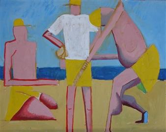 RW Fuller - OTL Sketch Oil on Canvas, Paintings