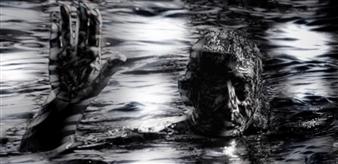 Jesua Marian - The Swimmer of the Sea of Dark Desires Archival Pigment Print, Digital Art