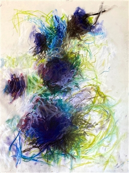 Ronnie Genotti - Cold Spring Pastel on Paper, Paintings