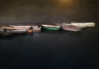 Linda Harding - Boats Photograph on Fine Art Paper, Photography