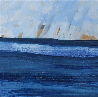 Gerlinde Amei Wöllmer - Nr 2 Meer Acrylic on Paper, Paintings