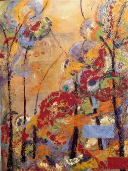 Marianne AuBuchon Devitt - Journey Oil on Canvas, Paintings