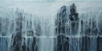 Bekir Smolski - Endless Flow Acrylic on Canvas, Paintings