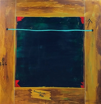 Arthur H. Gunther III - Verso Acrylic on Wood, Paintings