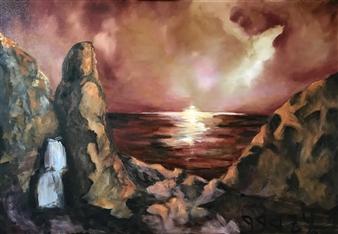 Marc Provisor - He Spoke Oil on Canvas, Paintings