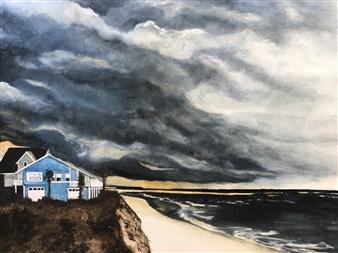 Nancy Holleran - Stormy Sunset over St Augustine Florida Giclee Print, Prints