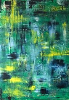 Anna K Art Katja van den Bogaert - Dreamland Acrylic on Linen, Paintings
