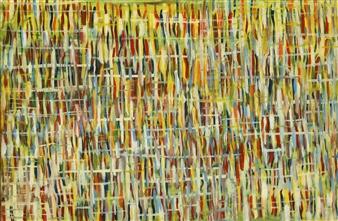 Joe Koury - Strangers Acrylic on Canvas, Paintings
